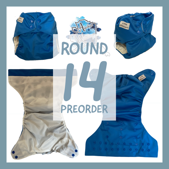 Preorder round 14 pocket diapers