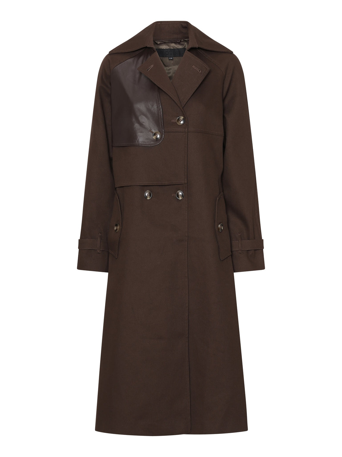 SARA TRENCHCOAT - BROWN