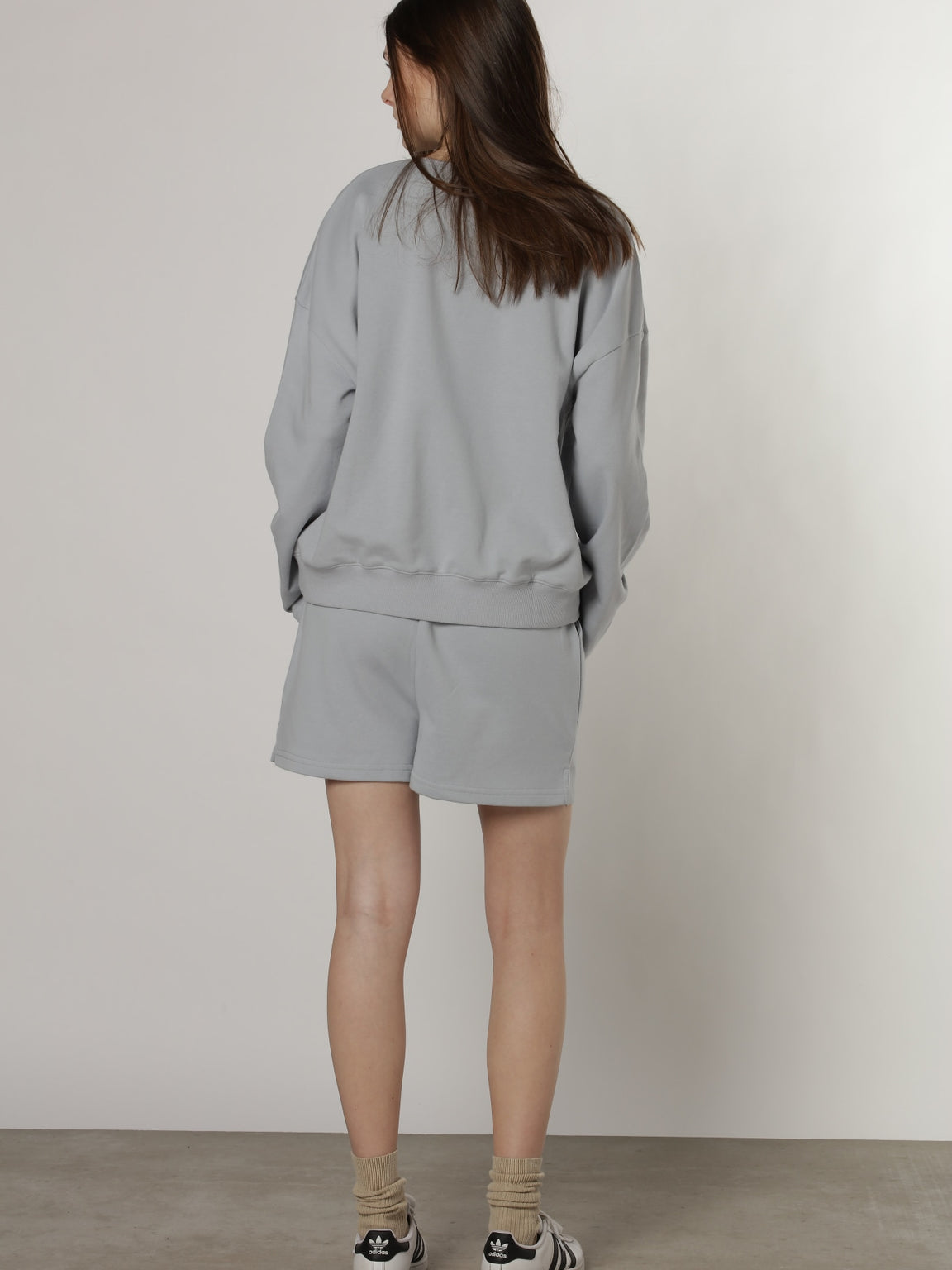 KYLIE SHORTS - DUST BLUE