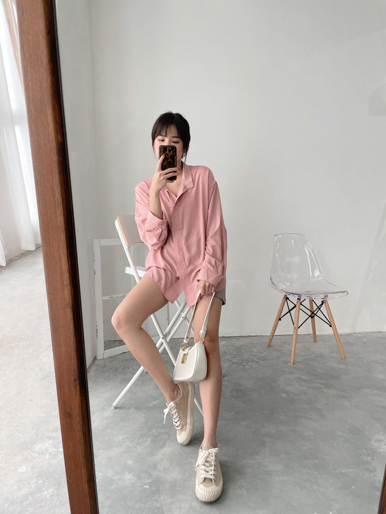 Dusty Pink Blouse (BACK IN STOCK)