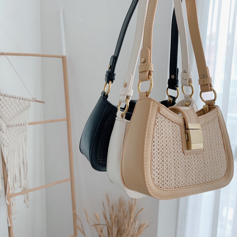 Maya 2.0 Straw Shoulder Bag