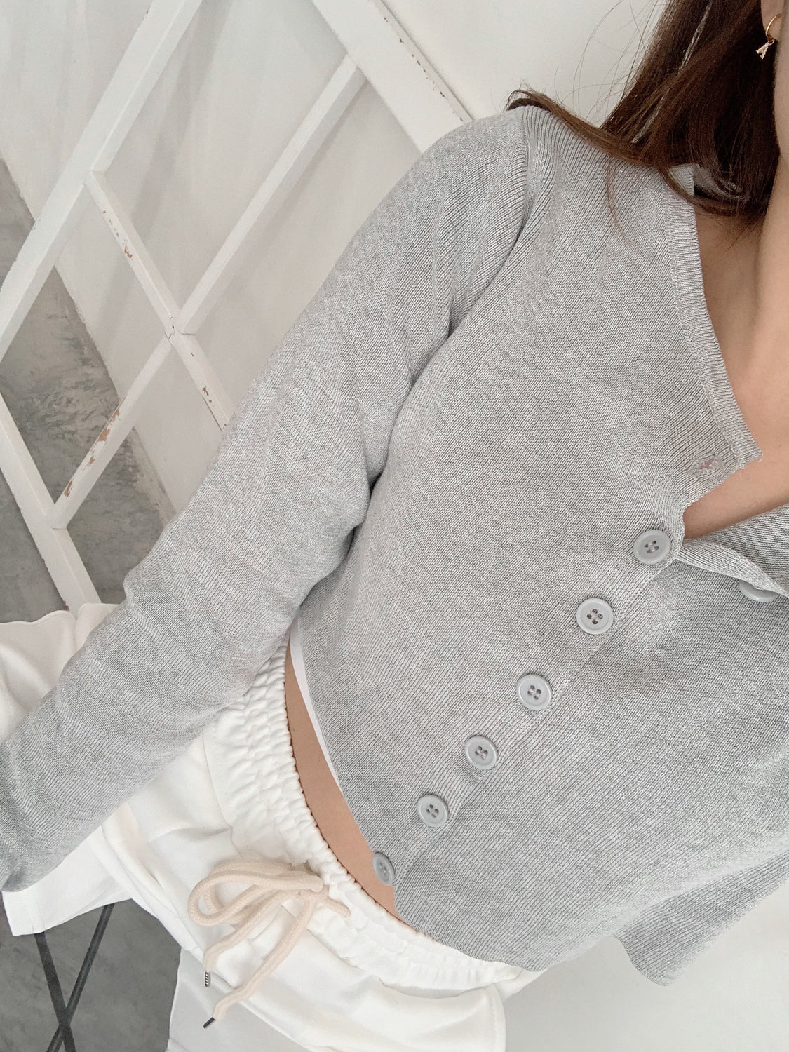 Abbey Cardigan GREY