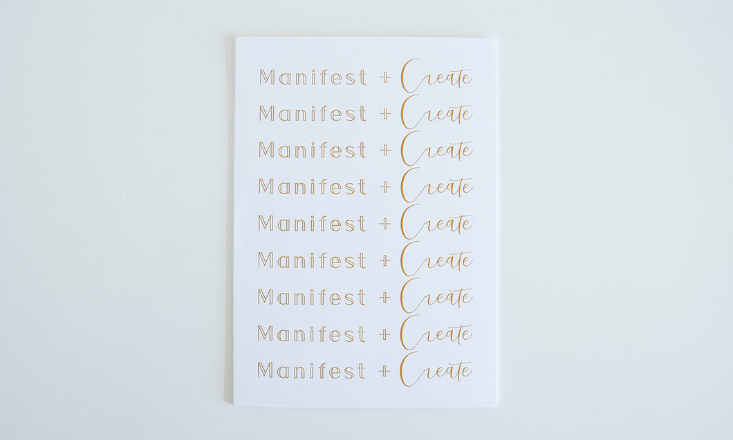 Manifestation Cards