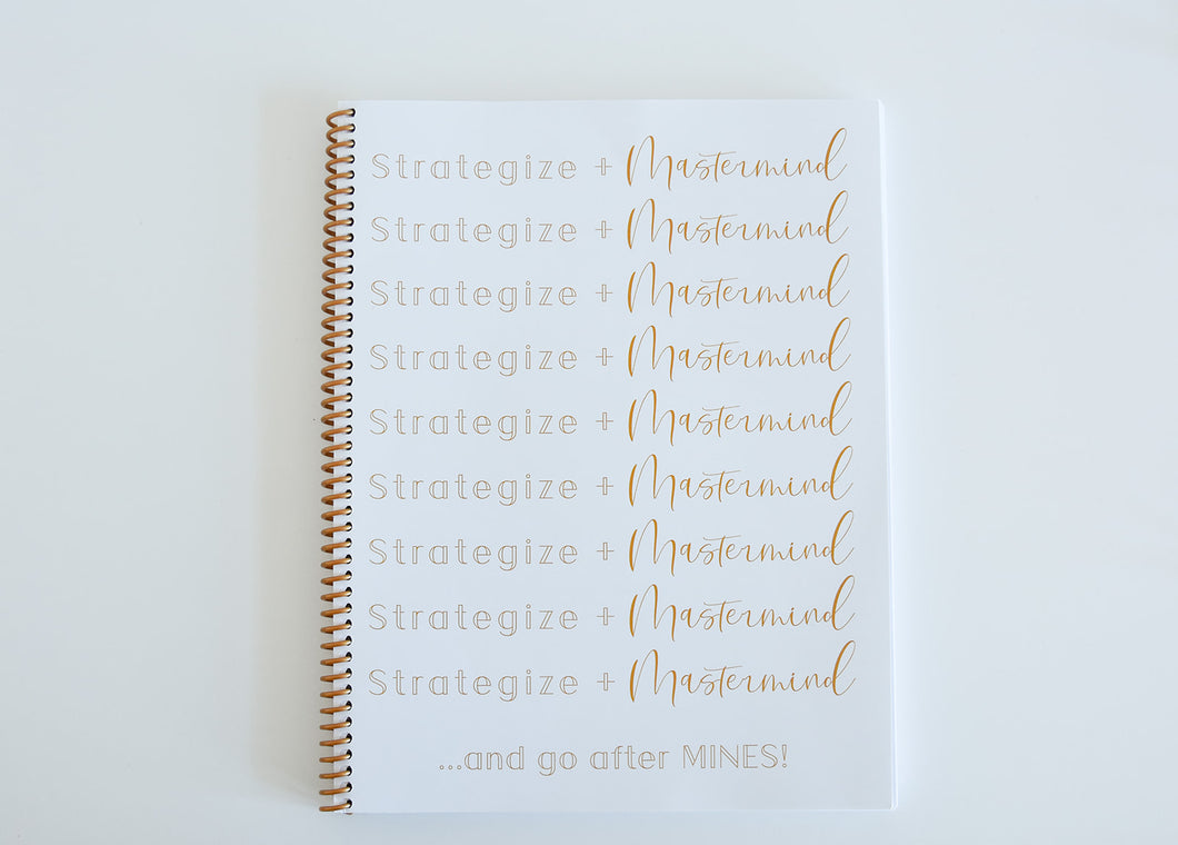 Strategize Notebook
