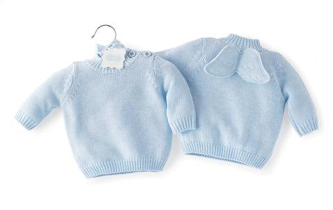 Baby-boy Angel Sweater By Mud Pie