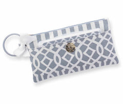 Lil' Biter Gray Bangle Bag .