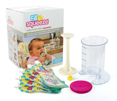 Baby Food Pouch Fill Station - Fill and Squeeze Starter Pack.