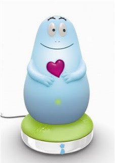 Lumilove Barbapapa Portable Night Light (Blue).