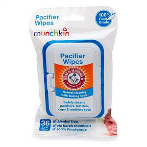 Munchkin Arm & Hammer Pacifier Wipes.