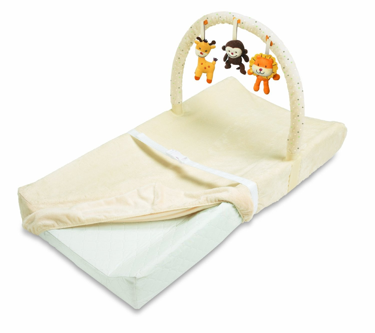 Summer Infant Changing Pad with Toy Bar .