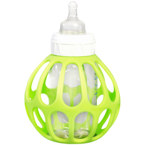 The Original ba baby bottle holder.(Green)