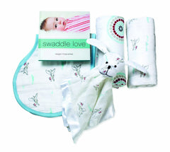 aden+anais Newborn baby gift set-Liam the brave
