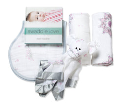 aden+anais Newborn baby gift set- For the Birds