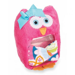 Hot Pink  Owl Ouch Pouch by Mud Pie.