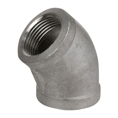 45° Threaded Elbow 150lb Stainless Steel - AircoProducts