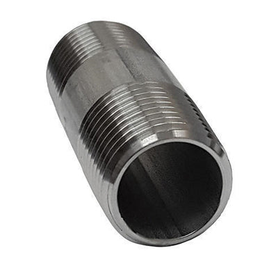 Barrel Nipple 150lb Stainless Steel 316 - AircoProducts