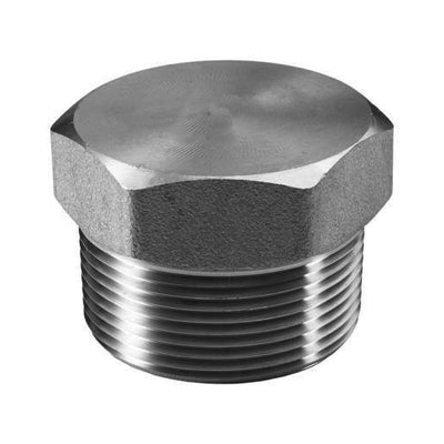 Threaded Hex Plug 150lb Stainless Steel 316 - AircoProducts