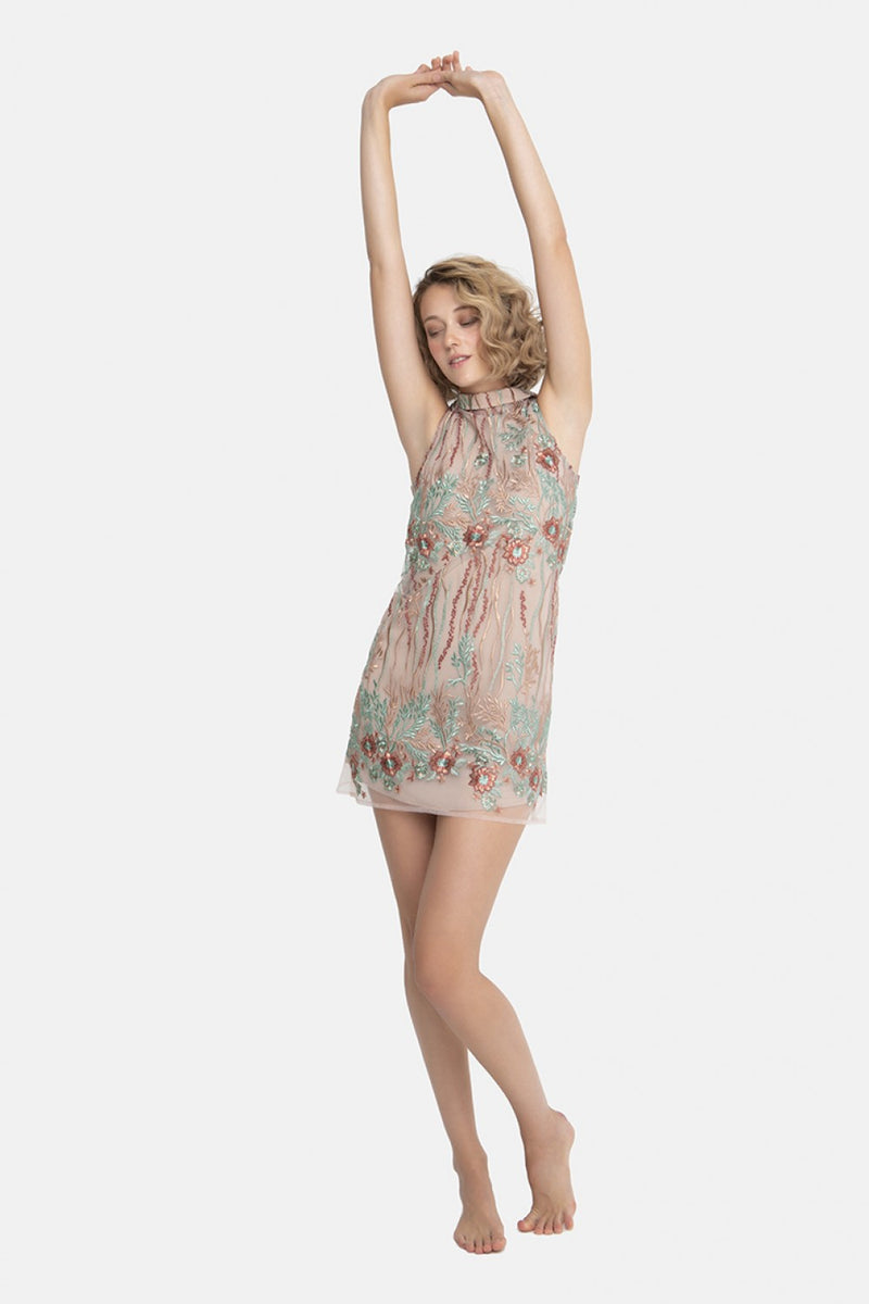 Gina Dress Beige