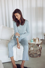 Bianca Bamboo Pyjamas Set Blue