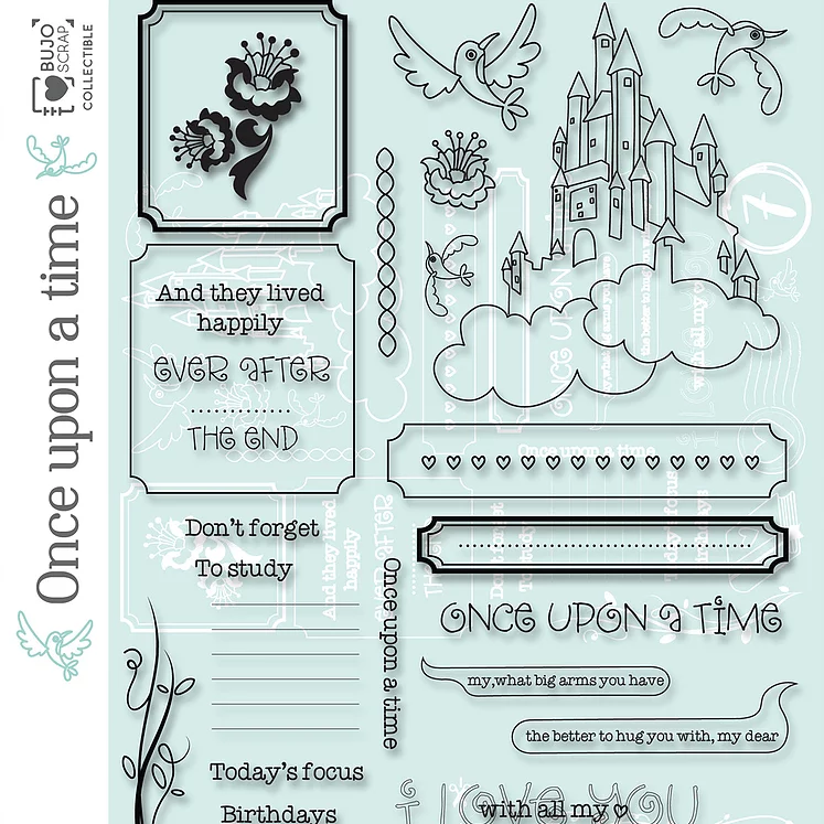 Carolina Ghelfi - Clear Stamps 7 - C'era una volta