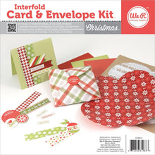 Load image into Gallery viewer, We R Memory Keepers - Kit di biglietti e buste interfogliati - NATALE