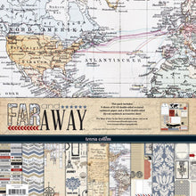Load image into Gallery viewer, Teresa Collins Far and Away - Scrapbooking Paper & Accessories Pack - Pack 6