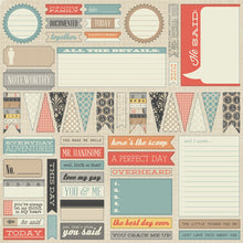 Load image into Gallery viewer, Teresa Collins He Said - Scrapbooking Paper & Accessories Pack - Pack 3