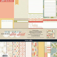 Load image into Gallery viewer, Teresa Collins She Said - Scrapbooking Paper & Accessories Pack - Pack 2