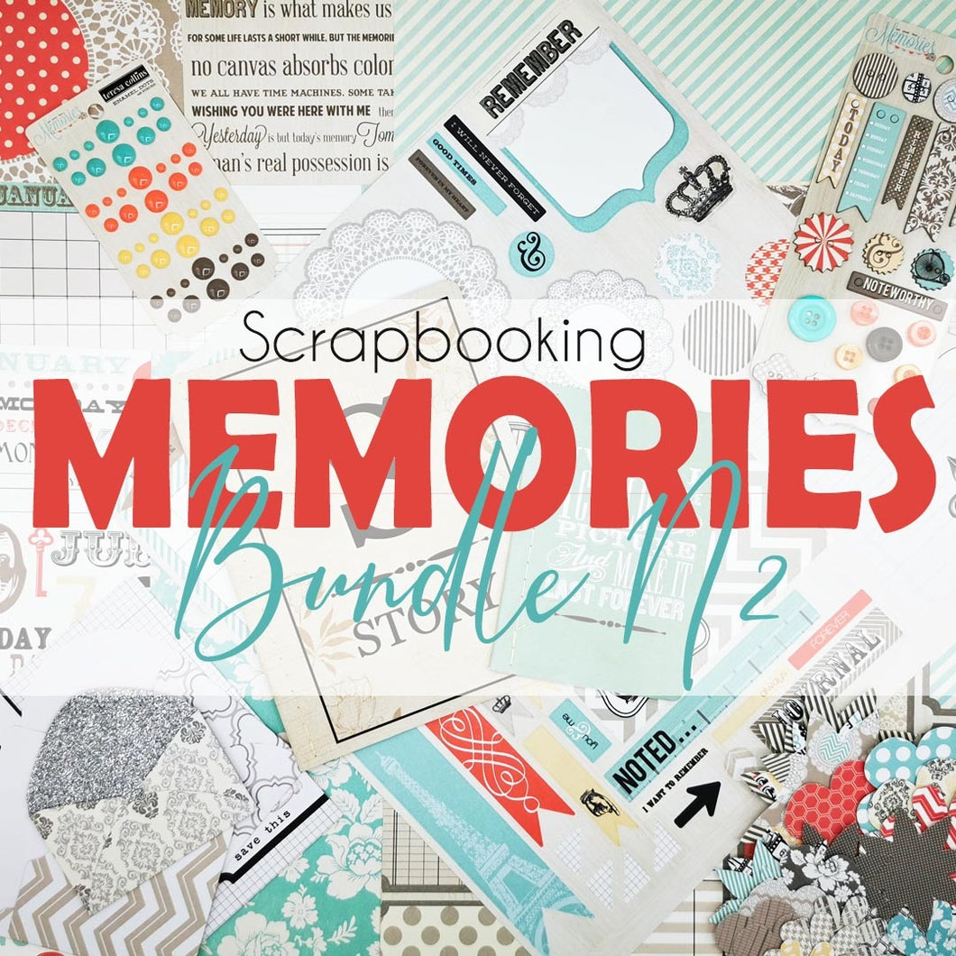 Teresa Collins Memories- Scrapbooking Paper & Accessories Pack - Pack 2