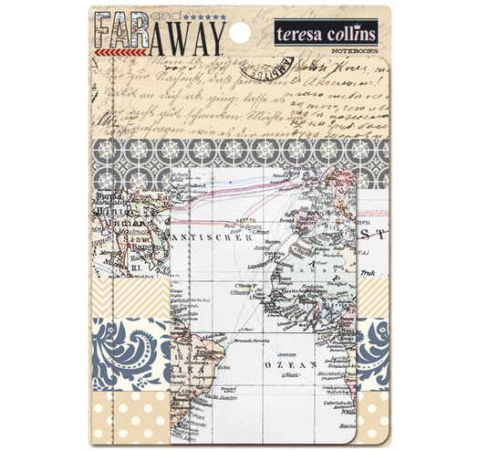 Teresa Collins Far and Away - Scrapbooking Paper & Accessories Pack - Pack 6