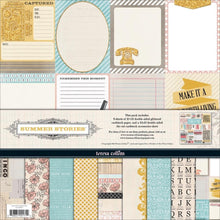 Load image into Gallery viewer, Teresa Collins Summer Stories - Scrapbooking Paper & Accessories Pack - Pack 3