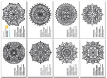 Load image into Gallery viewer, Chameleon Art Products - Carte da colorare - MINI MANDALAS
