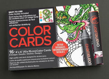 Load image into Gallery viewer, Chameleon Art Products - Carte da colorare - TATUAGGIO