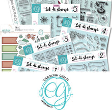 Carica l'immagine nel visualizzatore di Gallery, Carolina Ghelfi - Clear Stamps 4 - Garlands of Rose