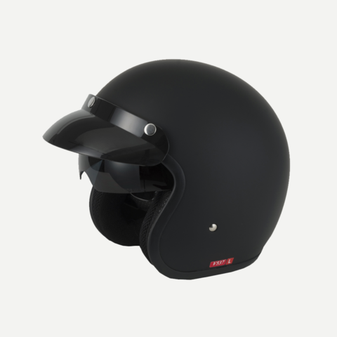 ESK537 Open Face Helmet with Retractable Visor