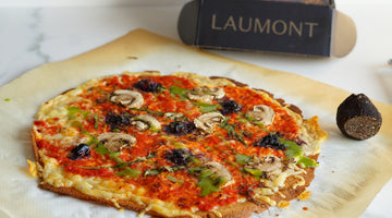Quinoa Pizza with Black Truffle