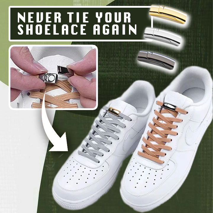 Shoelace Quick Lazy Metal Lock