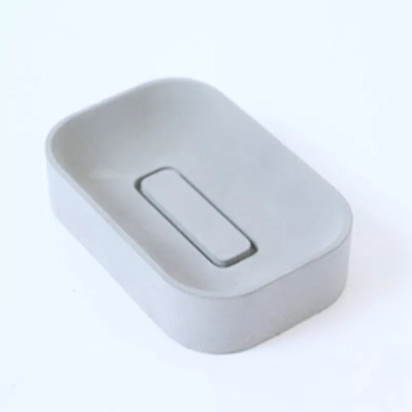 Rounded Concrete Soap Dish