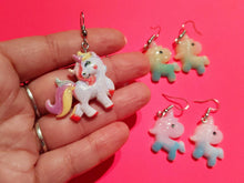 Load image into Gallery viewer, Unicorn Earrings: Animals, Magic, Magical Creature