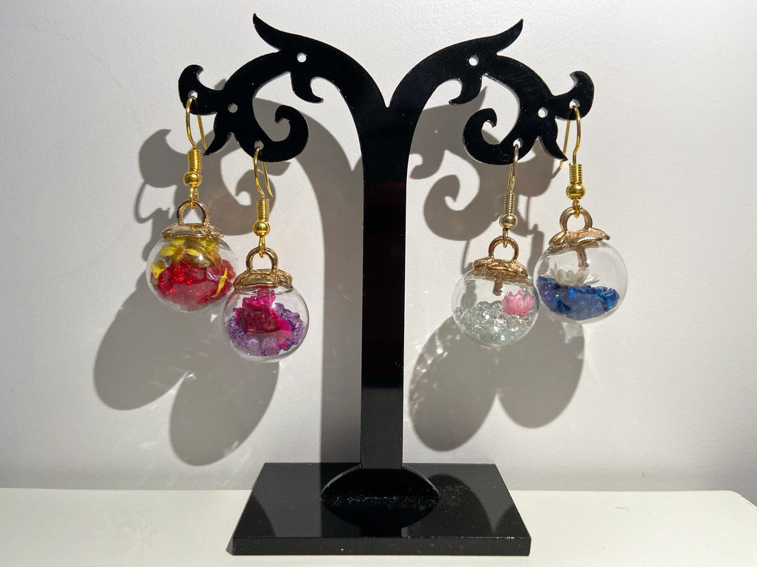 Festive Bauble Earrings: Christmas & Special Occasion Jewelry