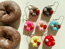 Load image into Gallery viewer, Donut Earrings: Donuts, Dessert, Pastry, Bakery, Snack