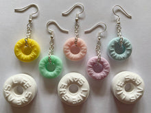 Load image into Gallery viewer, Mint Candy Earrings: Dessert, Candies, Sweet, Loops, Mints