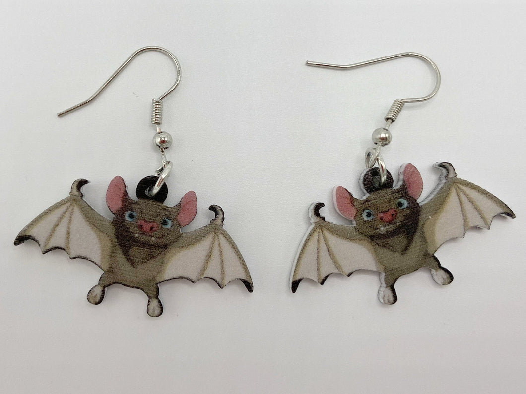 Bat Halloween Earrings: Spooky Bats, Horror, Scary