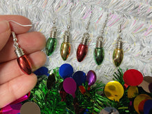 Load image into Gallery viewer, Christmas Light Earrings: Fairy Lights, Winter, Festive, Holidays