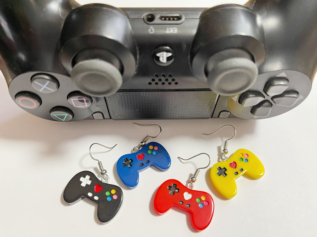 Game Controller Earrings: Game Night, Play, Video Game