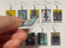 Load image into Gallery viewer, Tarot Card Earrings: Game Night, Cards, Play, Fortune Telling, Card Reading