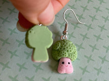 Load image into Gallery viewer, Broccoli Earrings: Vegetable, Healthy Food