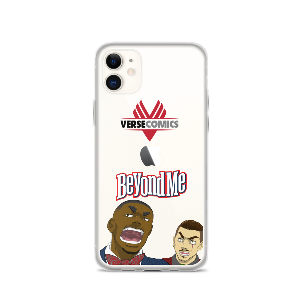 Beyond Me Carlos Davis iPhone Case
