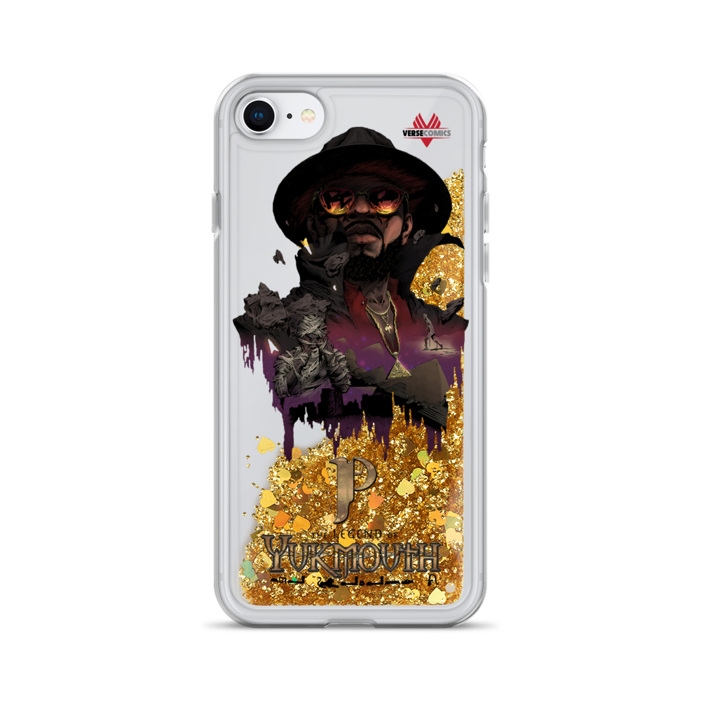 Liquid Glitter Legend of Yukmouth iPhone Case
