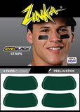 Eyeblack Strips (Dark Green)